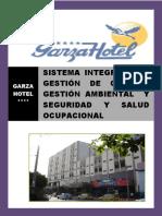 Sistema Integrado de Garza Hotel
