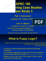 APSC150 - Lecture 3.7 - Fuzzy Control