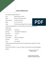 Contoh Surat Kuasa Pembayaran Stnk Motor