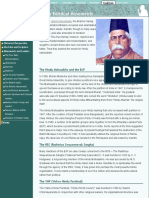 Hinduism - Socio-Political Movements