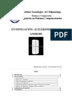Investigación Acelerómetro