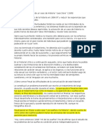 Análisis Fragmentario de Un Caso de Histeria - Caso Dora
