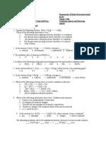 Redox Practice Quiz 11