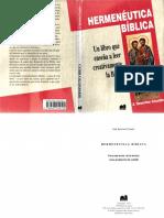 Hermeneutica Biblica - Jose Severino Croatto