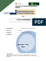 Ecoviviendas Proyecto Inversion