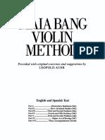 Maia Bang Violin Metodo primera parte