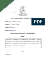 Zviad Barkaia Public Choice Paper