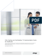 2 Citrix Xenapp and Xendesktop 76 Implementation Guide for Healthcare