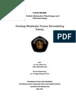 Tugas - Fisiologi Molekular Remodeling Tulang