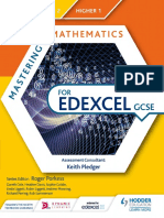 Mathematics for Edexcel GCSE - Foundation 2-Higher 1 (2015)