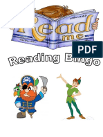 Reading Bingo Title Page