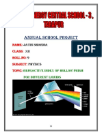 Physics PROJECT class 12th.