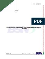 Kontruksi Tambak HDPE SNI 7981-2014