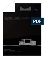 Arquitectura Austera Atacameña