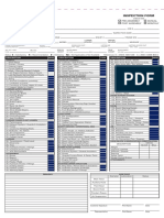 Monthly Equipment Inspection Form