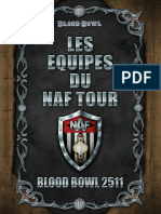 Les Equipes du NAF Tour - Blood Bowl 2511