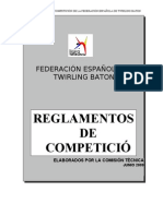 REGLAMENTO DE COMPETICIÓN FETB