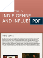 Indie Genre and Influences