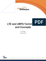 LTE and UMTS Terminology and Concepts