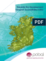 Transport Accessibility Index Oct 08