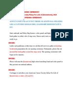 RFL Opening Cerem Sample Script 033110