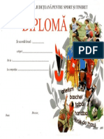 Scan Diploma Cupa Teiului La Fotbal