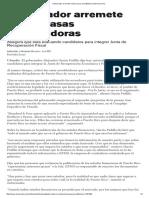 1-6-2016 Gobernador Arremete Contra Casas Acreditadoras _ El Nuevo Día