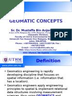 GEOMATIC  - Geomatics Concept