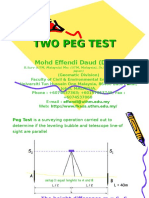 GEOMATIC Leveling_Two Peg Test