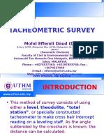 GEOMATIC  - Tacheometry Survey