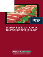 How to Set Up a Butchers Shop