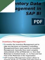 Inventory Data Management in SAP BI