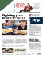 Asbury Park Press front page Thursday, Jan. 7 2016