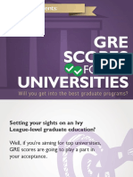 GRE Top Universities