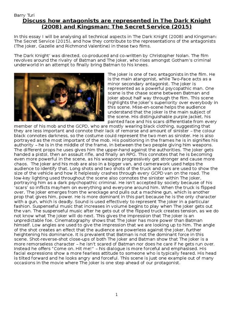 Textual analysis essay