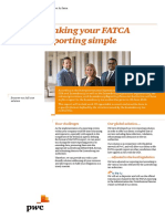 Pwc Fatca Making Your Fatca Reporting Simple