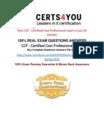 CCP Practice Exam Questions