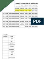 List of Generator (2)