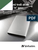 Store n Go User Guide SLOVENIAN