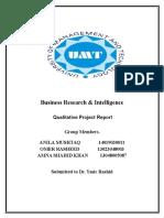 BRi Final Quality Report