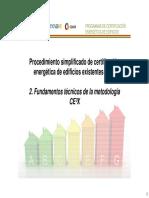 Fundamentos Técnicos de La Metodología de CE3X