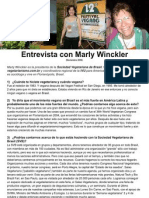 Entrevista con Marly Winckler ESPAÑOL
