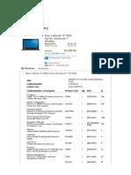 Caractéristique Dell Latitude E7250