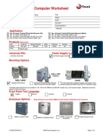 Customer Flow Computer Worksheet (Petrorio)