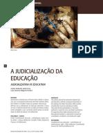 A Judicialização Da Educação