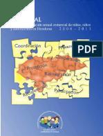 2006  Plan Nacional de acción contra la explotación sexual comercial de niños en Honduras 2006-2011