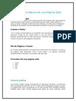 Estructura Básica de Una Página Web