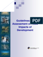 Guidelines for Assessment of Road Impacts of Development