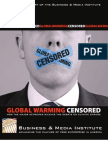 Global Warming Censored How the Major Networks Silence the Debate on Global Warming