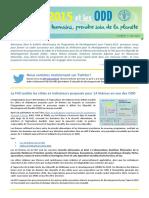 Bulletin électronique du Programme de Développement pour l'après-2015, e-bulletin numéro 3 - juin 2014